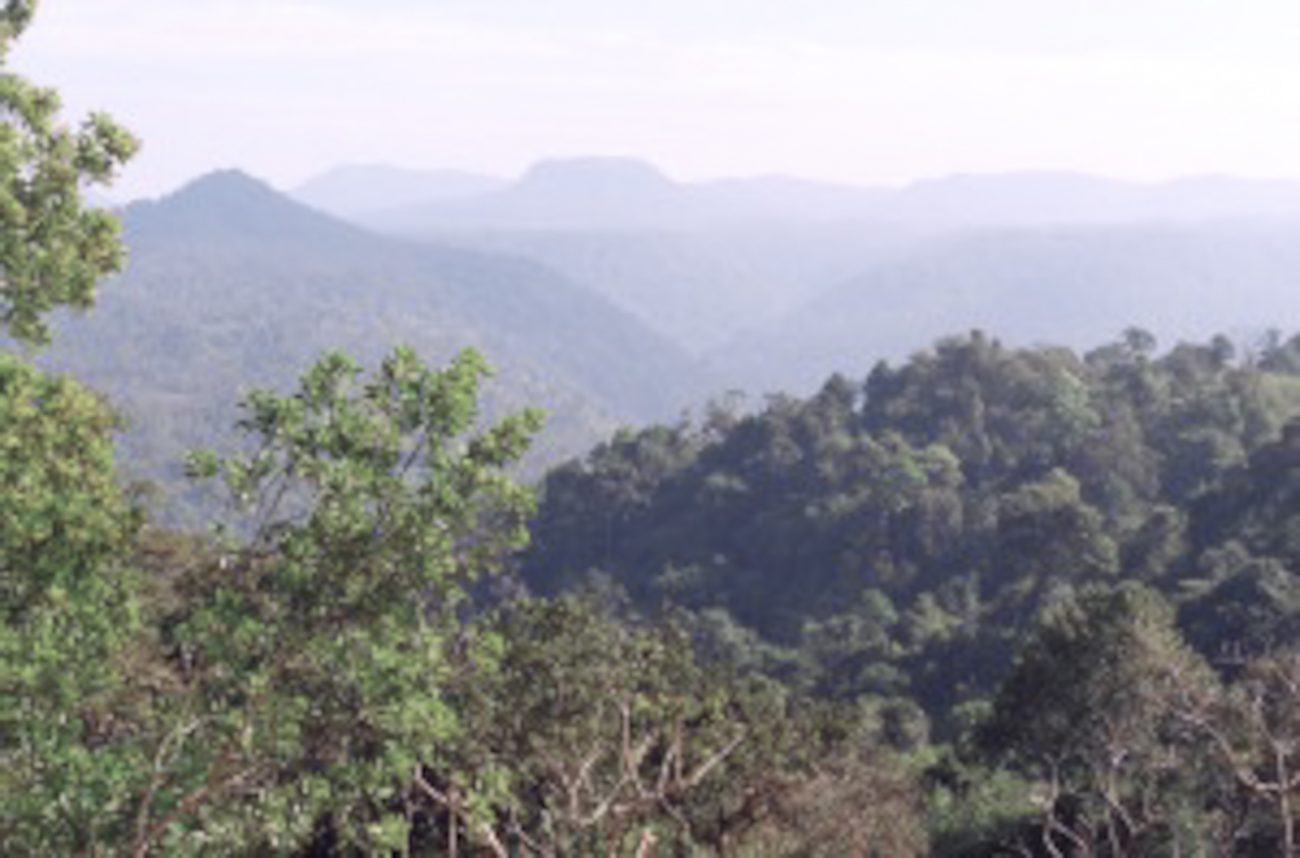 kampot montagne Cambodge