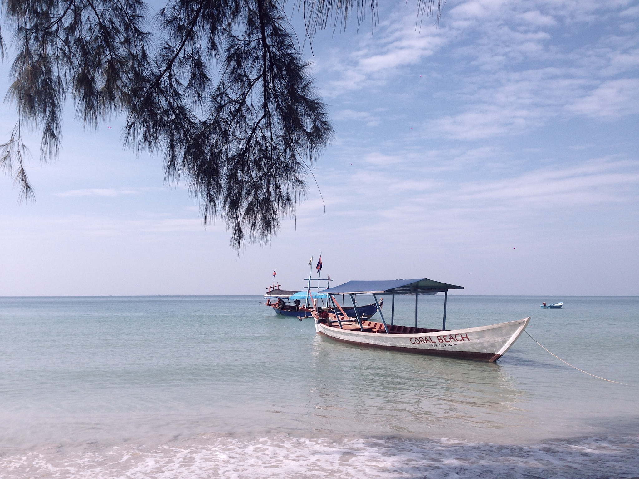 kep île au Cambodge
