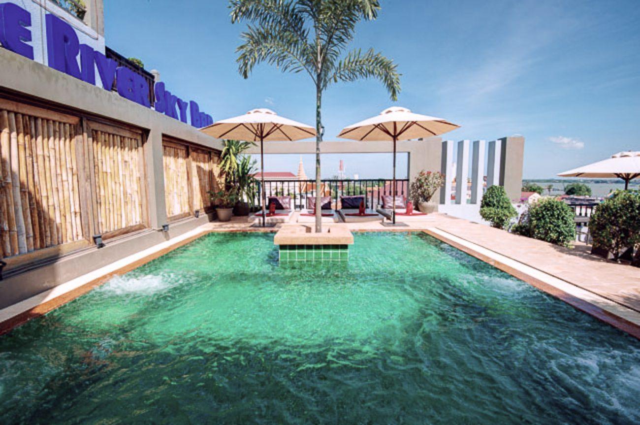 Hôtel à Phnom Penh au Cambodge