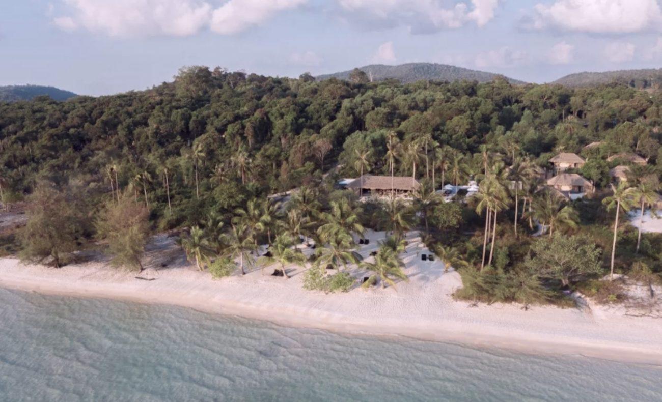 Plage sur l'île de Koh Rong