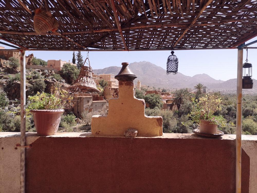 vue panoramique maison berbère Tafraout