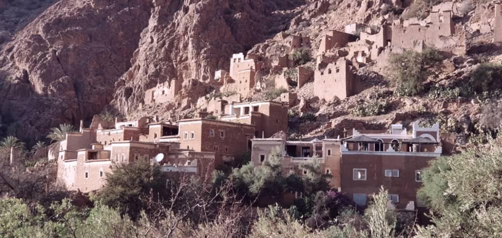 hébergement Tafraout maison berbère