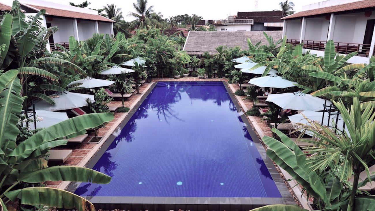 siem reap hôtel avec piscine
