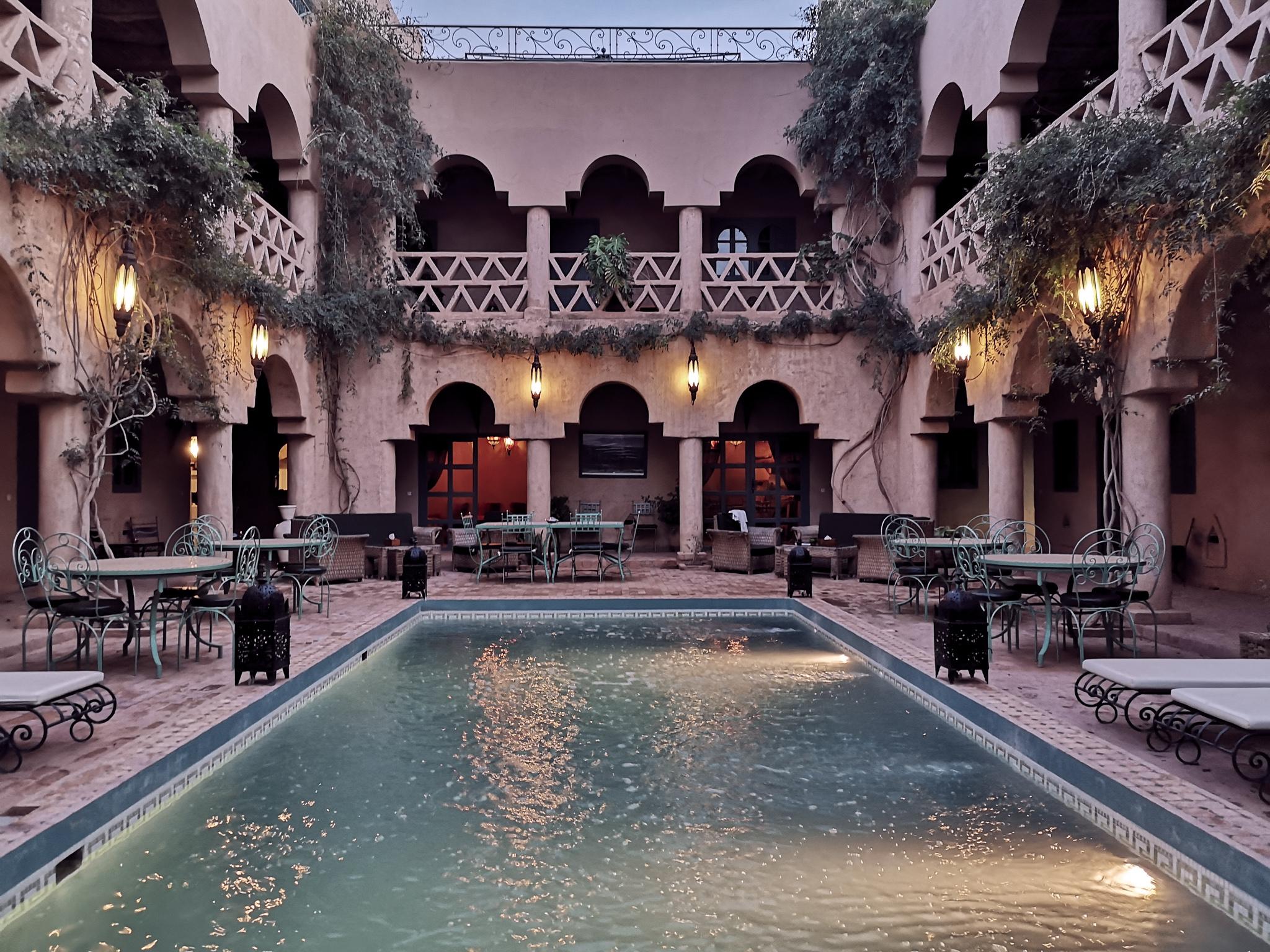 riad taroudant piscine maroc