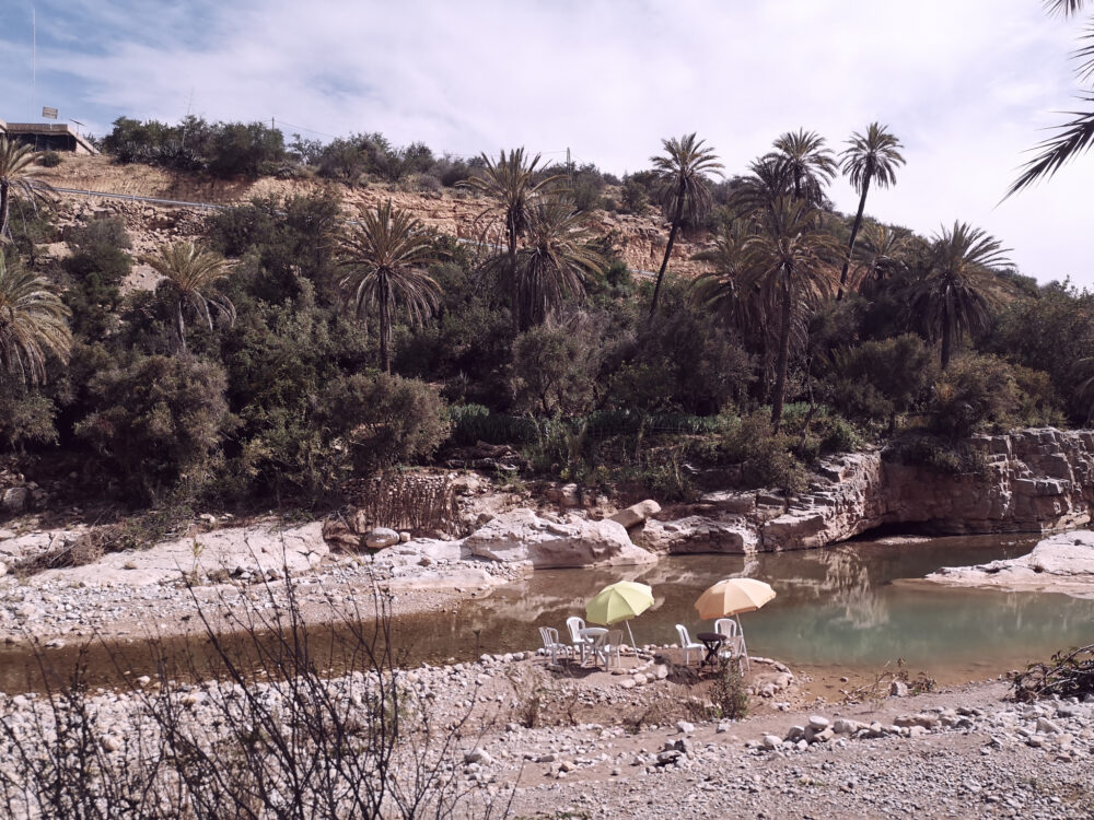 La Vallée du Paradis dans la région d'Agadir