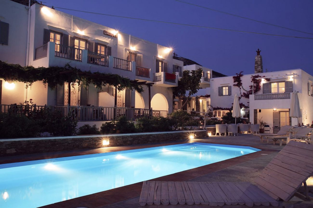 Sifnos hôtel avec piscine