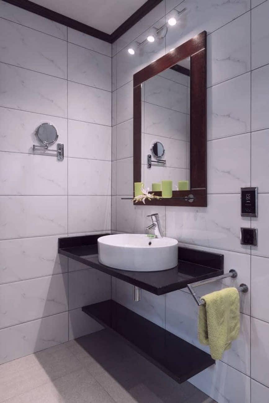 Auberge d'Anse Boileau salle de bain mahe