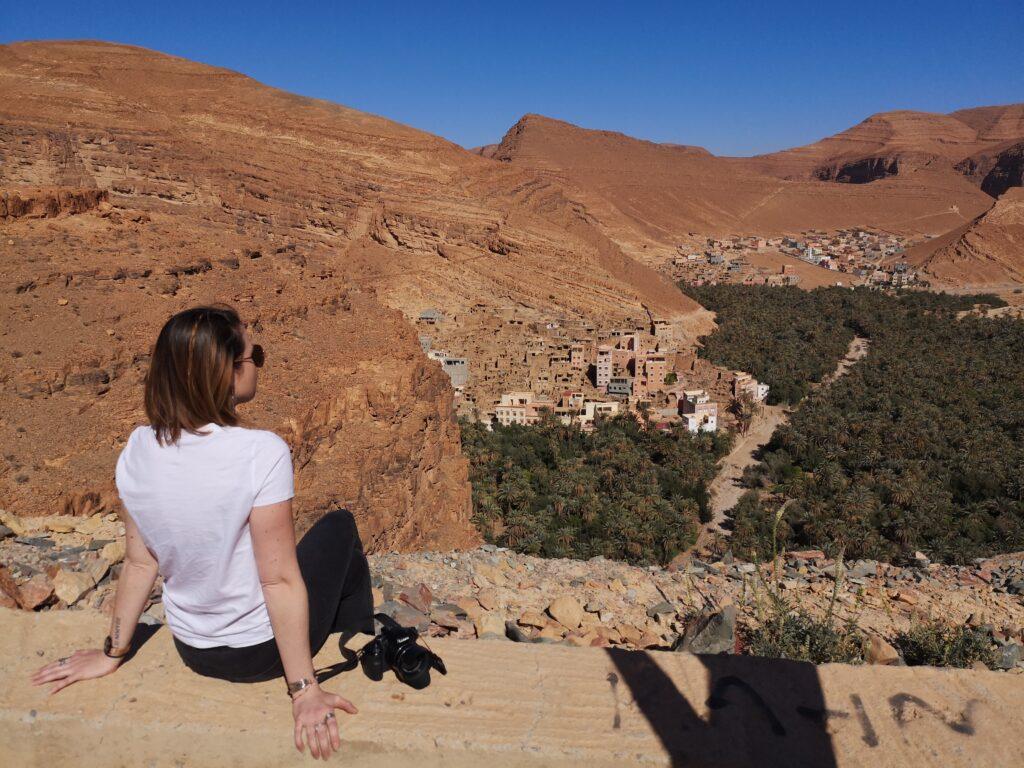 Maroc oasis igmir anti atlas