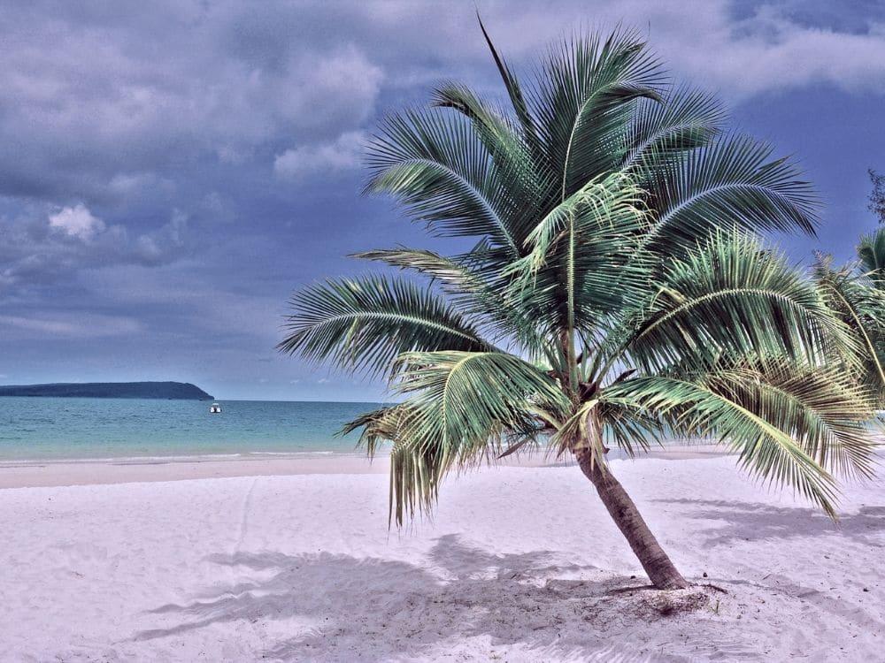 Ile de Koh Rong plage paradisiaque