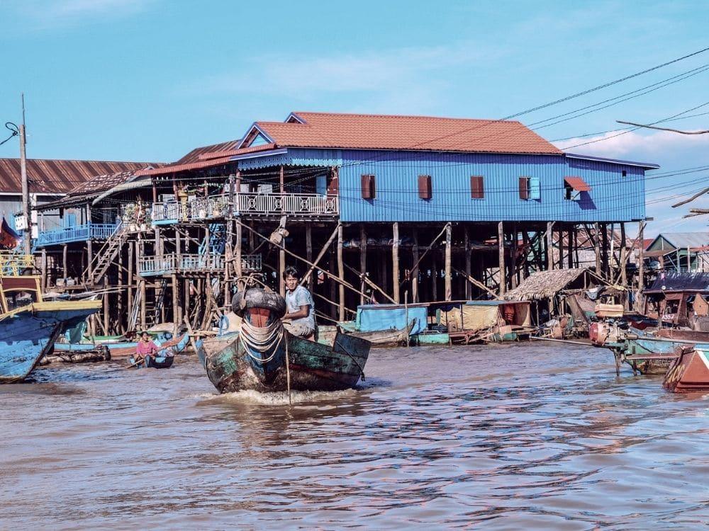 Cambodge Kompong Phluk Village