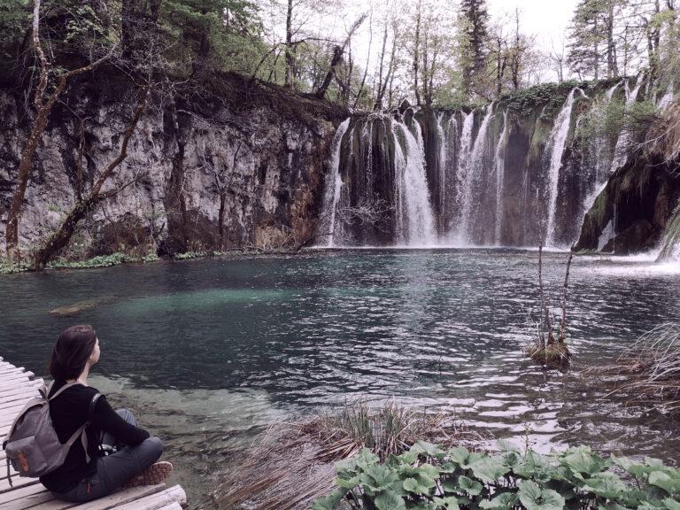 lacs plitvice en Croatie
