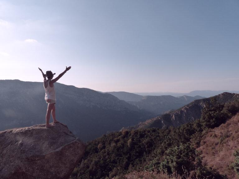 montagne en Sardaigne Italie