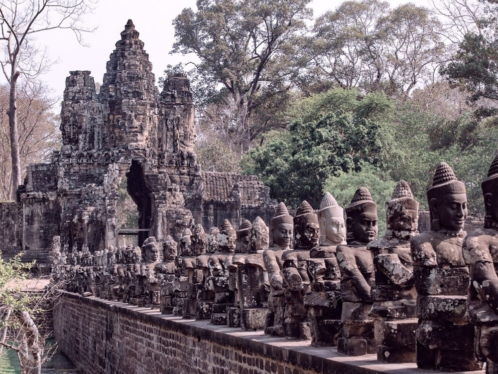 Temples d'Angkor incontournable du Cambodge