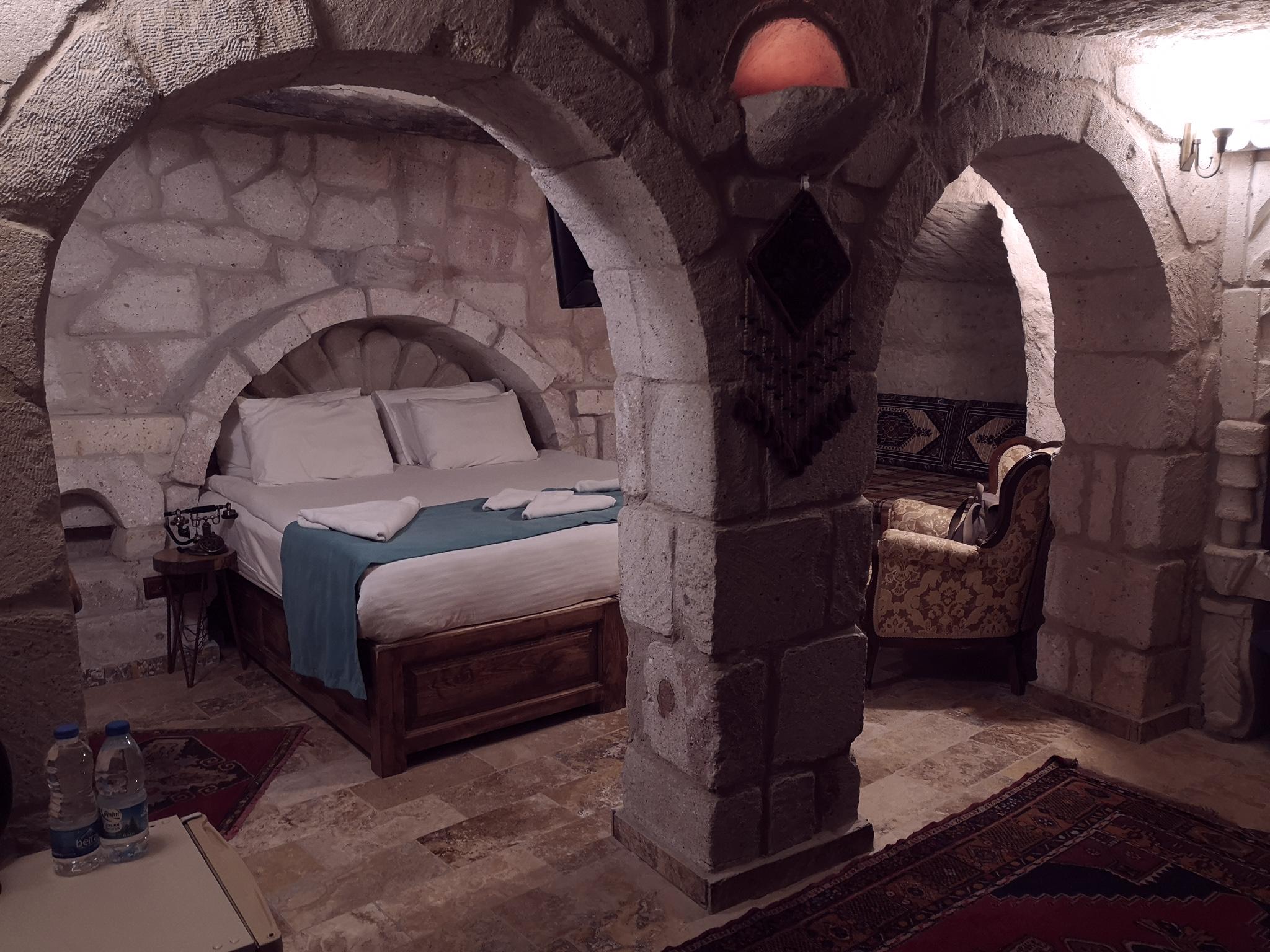 Chambre cave en Turquie