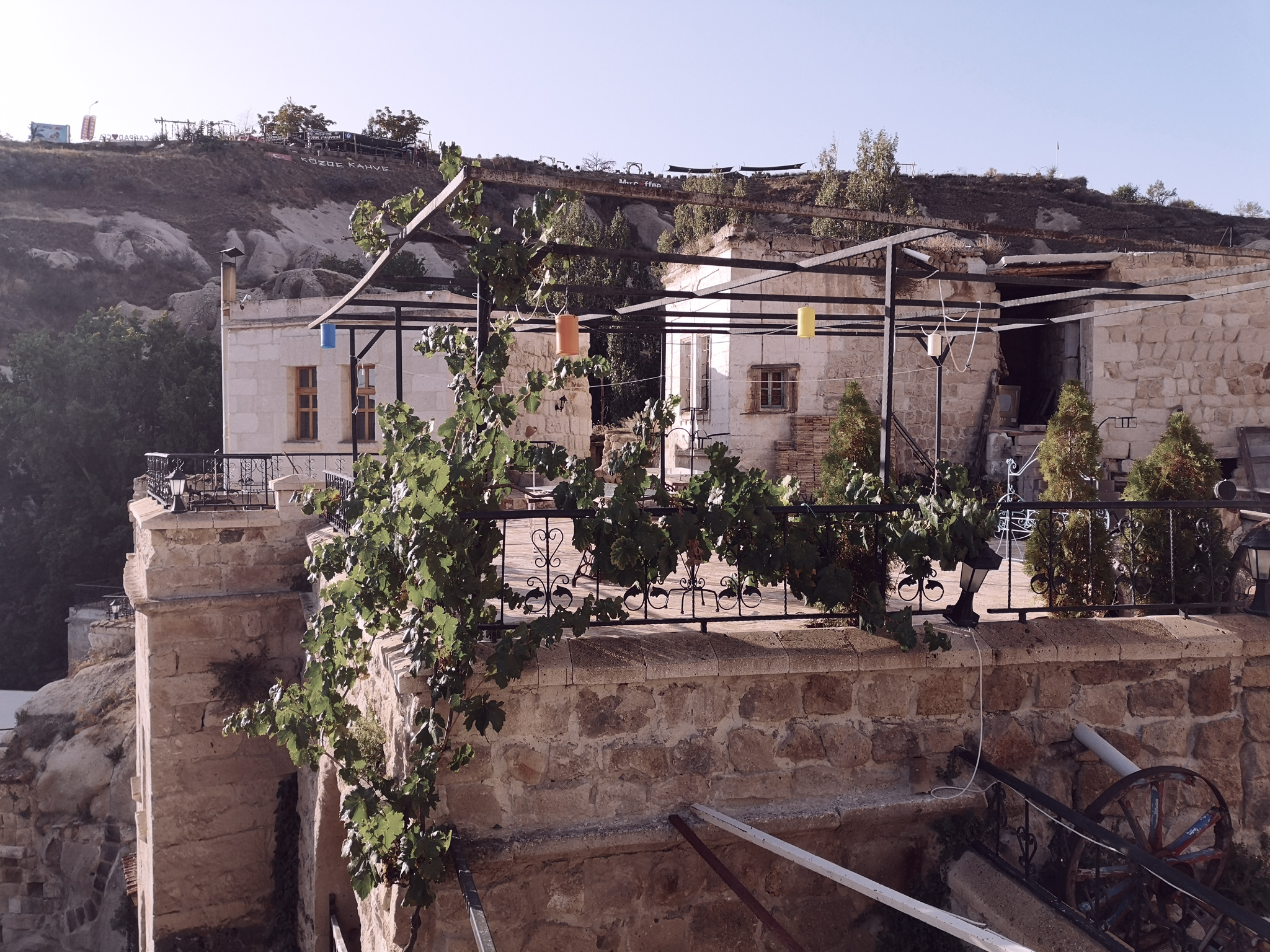 hotel cave en Cappadoce